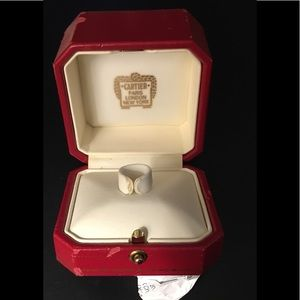 Cartier Authentic Vintage Ring Box